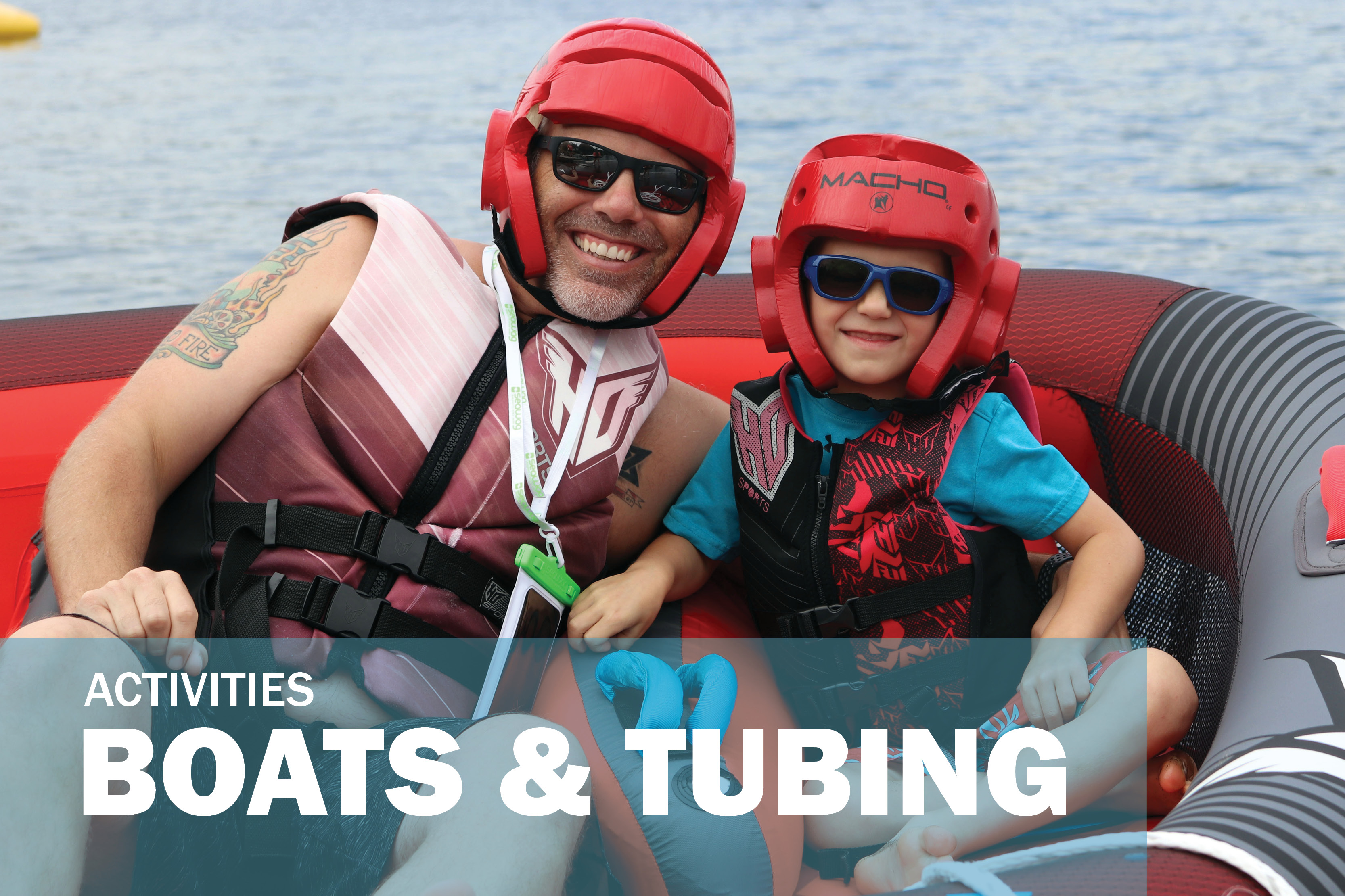Activity Slider - Boats & Tubing