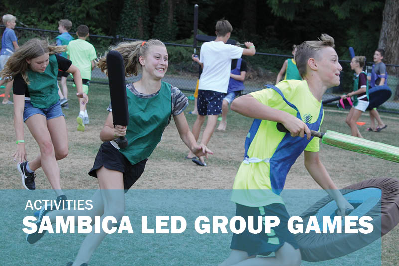 SAMBICA led group games