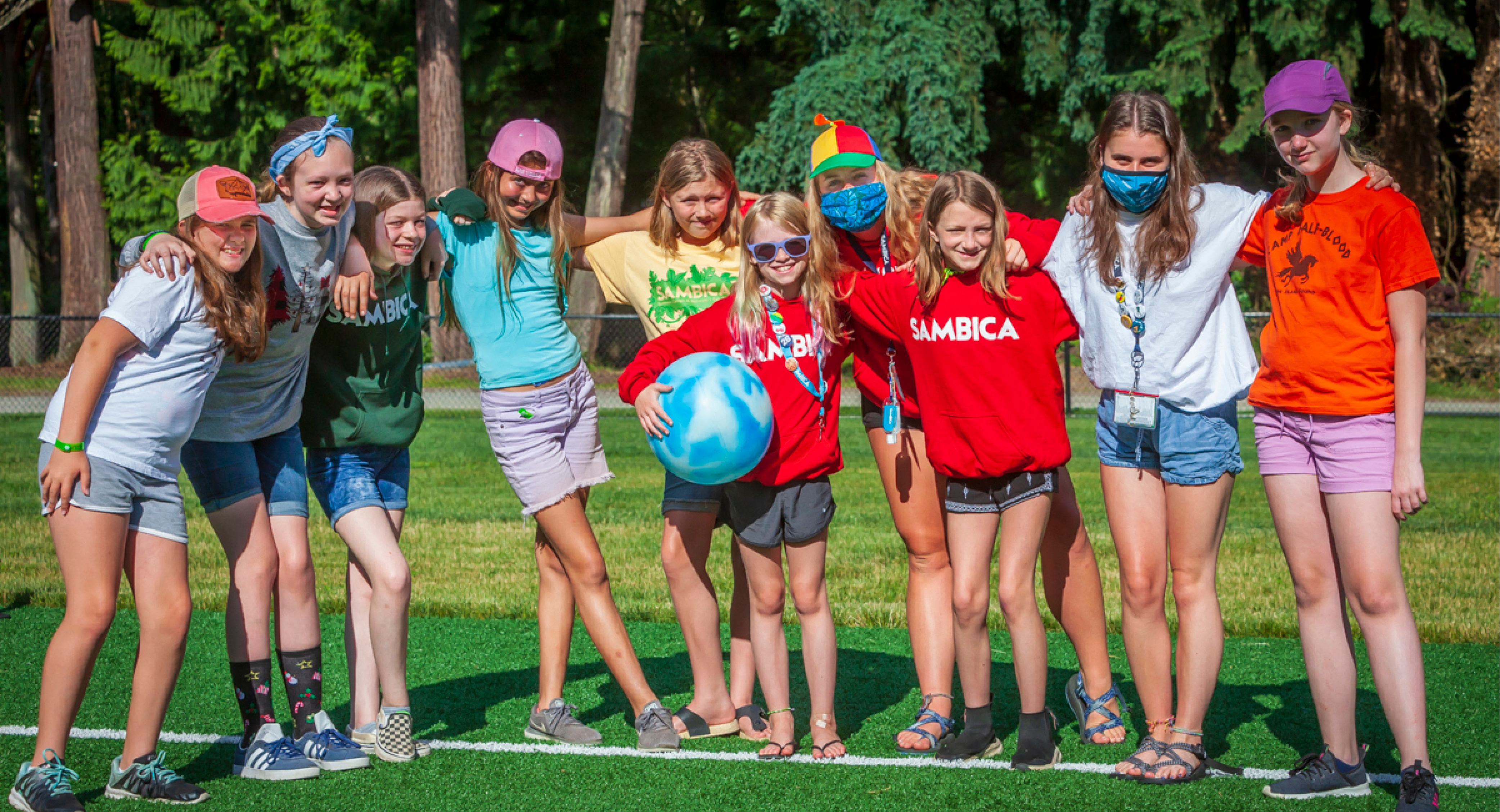 Counselor - girls cabin group