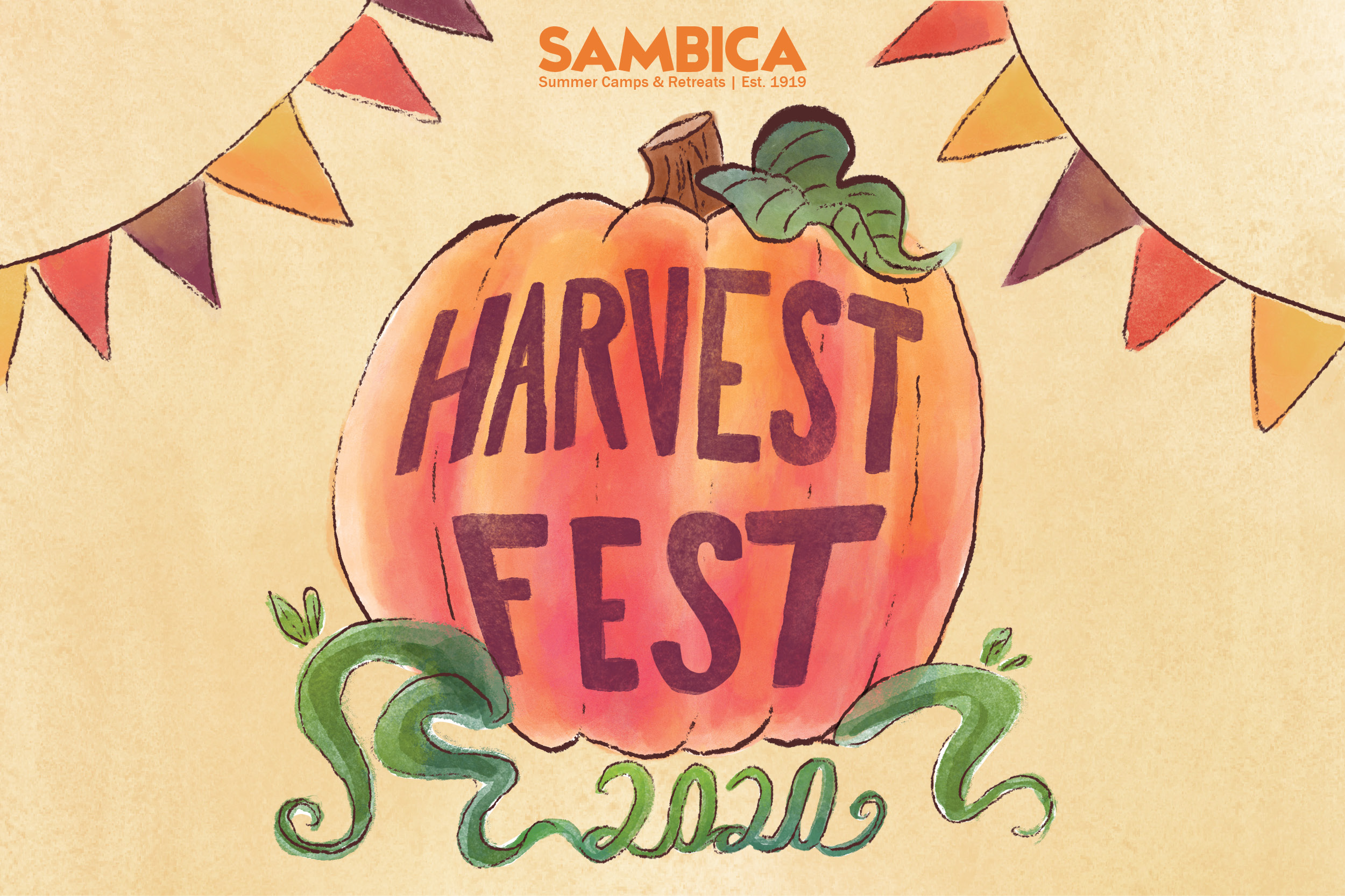 Harvest Fest Website image