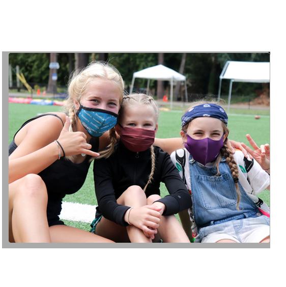 Main Image - girls with masks
