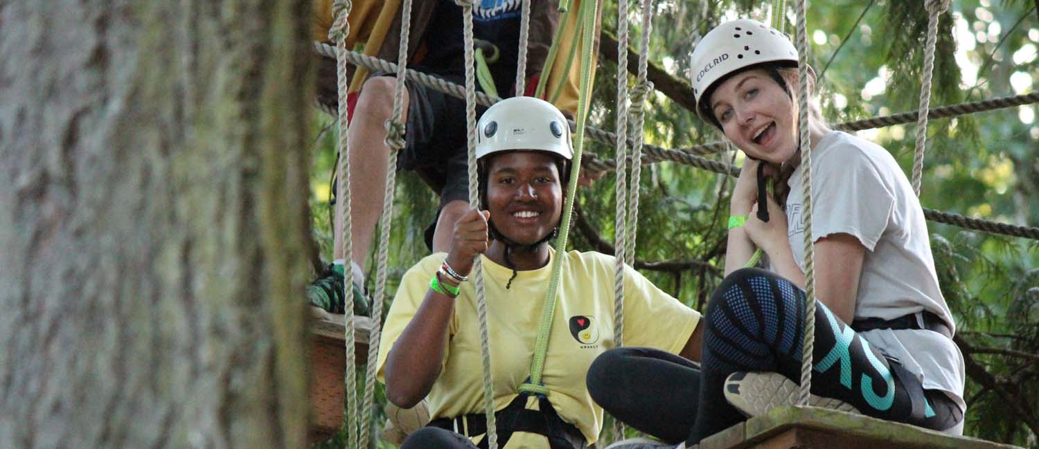 Safety - Swings high ropes